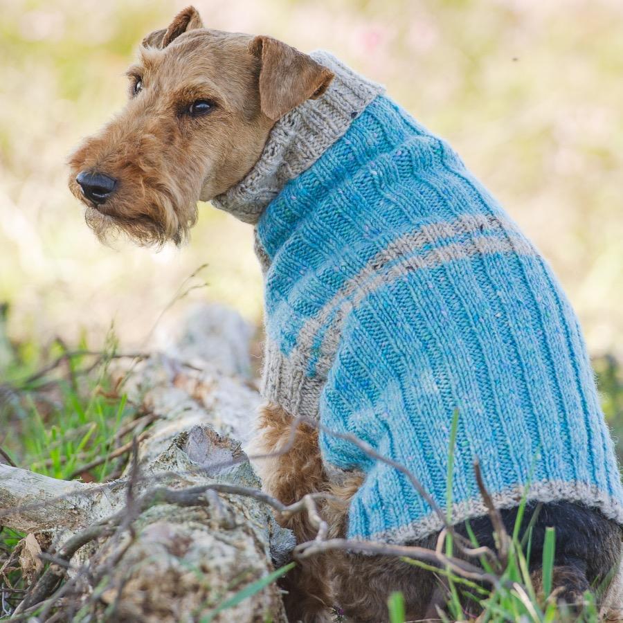 Terrier Donegal Ribbed Jumper Kit