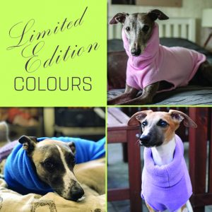 Limited Edition Fleeces - Cornflower, Baby Pink and Lilac