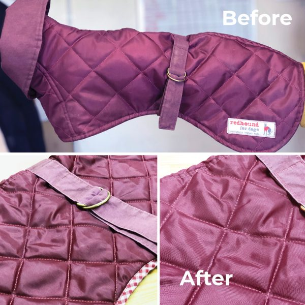 Fixed stitching that had come loose, re-sewn the strap, and a general brush and spruce up.