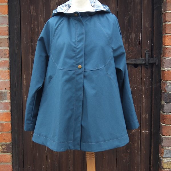 Chiltern Coat in Teal