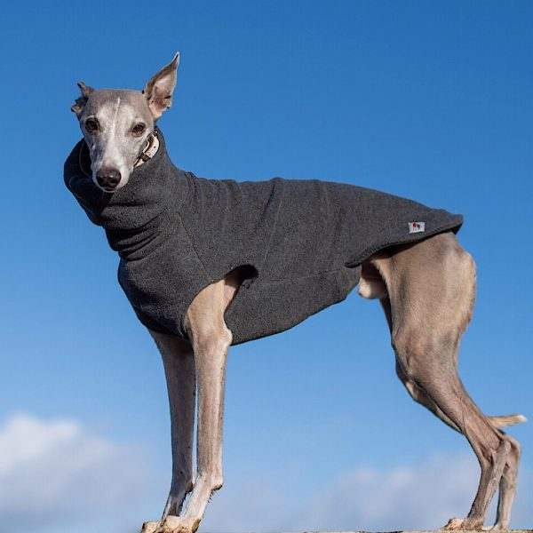 Fleece Jumper in Charcoal