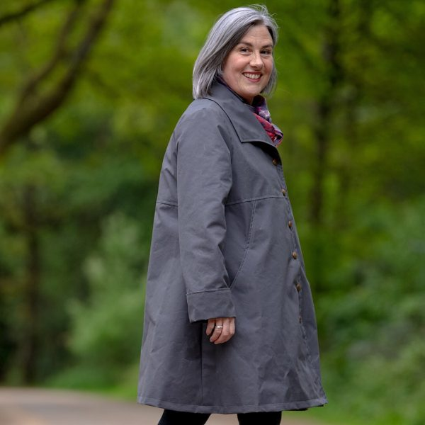 Malvern Ladies Coat in Grey