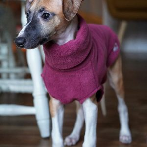 Fleece Jumper in Rose - available as option in all the Puppy Packs