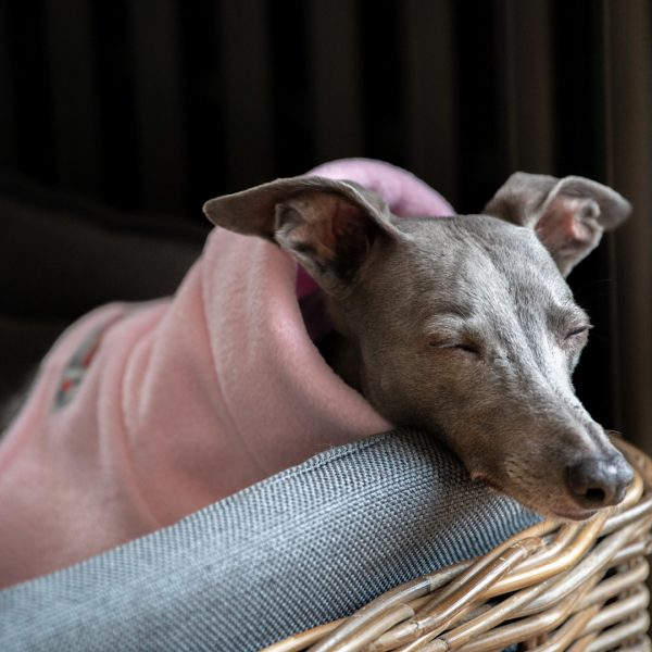 Snood in Baby Pink