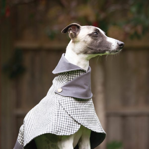 Winchester Houndstooth Wool Coat from the City Collection