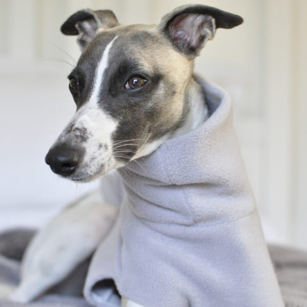 Whippet Snood in Light Grey