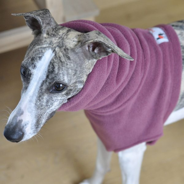 Whippet Snood in Rose