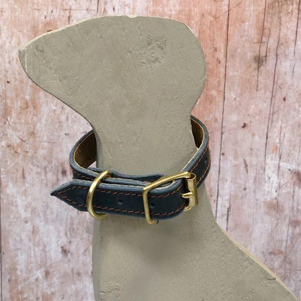 Puppy's First Collar in Navy