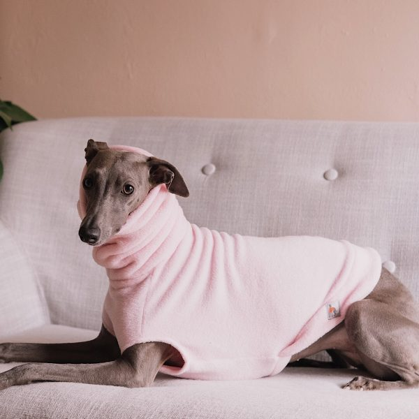 Fleece in Baby Pink